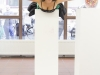 Elizabeth Wurst bei ihrer Performance